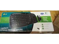 *£10* Logitech Wireless Keyboard and mouse