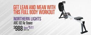 Rowers, Spin Bikes, Treadmills, Functional Trainers and Power Racks, Squat Racks, Half Racks, Cages Made in Canada