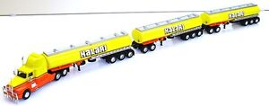 1:64 COOEE KENWORTH ROAD TRAIN - KALARI TANKERS - METAL CASE