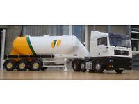 "Corgi CC13407, MAN TGA XL Feldbinder tanker ""Tarmac Plc"", 1:50"
