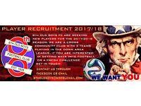 DAWFL Football Club Recruiting Players for 2017/18 Season