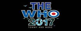 The Who tickets
