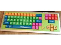 CRAYOLA Wired USB EZ TYPE BIG JUMBO Oversize KEYS KEYBOARD Colourful for Kids