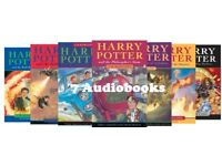 Harry Potter Audio Books by J. K. Rowling