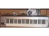 M-Audio Keystation 61ES 61-Key USB MIDI Keyboard Controller