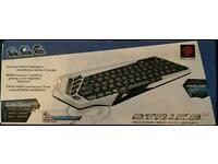 Quick sale! NEW Mad Catz Wireless Keyboard for PC, TV, Mac ,Mobile+Gaming