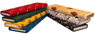 Gryffindor Fabric (HARRY POTTER CRAFT COTTON FABRIC - HOGWARTS HOUSES, MARAUDERS MAP &)