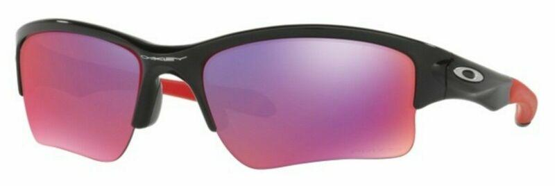 Oakley Quarter Jacket sunglasses Polishd Black Prizm Road OO9200-18 Youth Kids