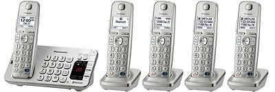Panasonic KX-TGE275S DECT 6.0 Plus Link-to-cell Bluetooth Cordless Phone System