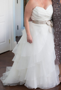 Wedding dress- Paloma Blanca from Becker's Bridal in Toronto