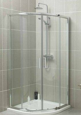 BRAND NEW 900MM X QUADRANT SHOWER ENCLOSURE TRAY WASTE