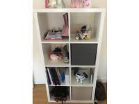 White IKEA Shelf