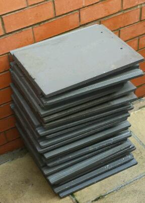 Lagan roof tiles grey x18