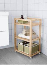 Ikea Molger Trolley - Birch