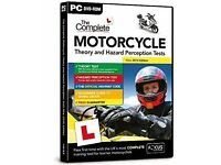 Motorcycle Theory and Hazard Perception Tests DVD
