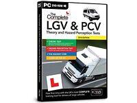 COMPLETE LGV HGV PCV DSA DVSA THEORY TEST HAZARD PERCEPTION PC DVD CD 2018