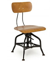 INDUSTRIAL SWIVEL CHAIR AND STOOL
