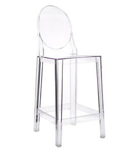 TRANSPARENT COUNTER STOOL BAR STOOL