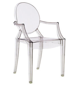 100 TRANSPARENT GHOST EVENT CHAIR DINING CHAIR ARMCHAIR