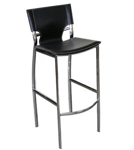 MODERN LEATHERETTE BAR STOOL COUNTER STOOL
