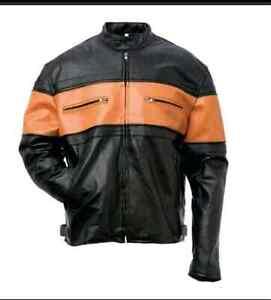 New Buffalo Leather Motorcycle Jackets