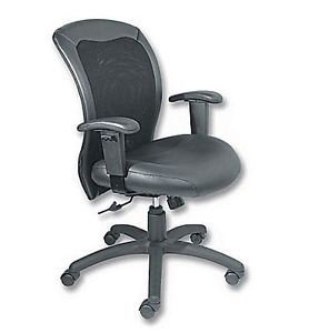 Executive Manager's Office Chair, Black