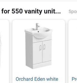 Bathroom Vanity Unit 550