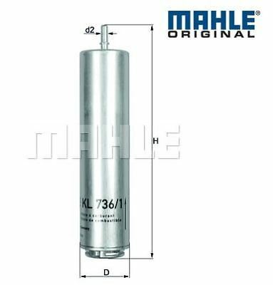 Fuel Filter BMW F30 325d,330d,335dX MAHLE original KL736/1D 13328572522