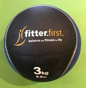 Fitter First Rubber Balance and Fitness Ball (3kgs/6.6lbs)