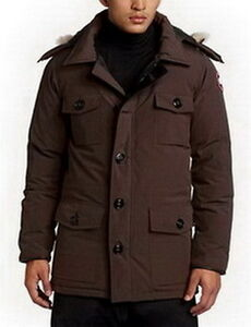 Canada Goose Men Banff Parka Brown