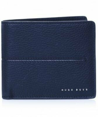 1da59289142 NEW HUGO BOSS ELITE BLACK BI-FOLD LEATHER WALLET WITH HUGO BOSS  PRESENTATION BOX