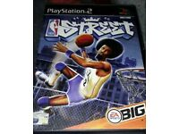 NBA Street PS2 Game