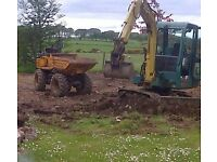 Heavy Duty Landscaping/digger work and clearance.
