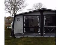 Isabella Commodore Concept caravan awning 900 with carbon X fibreglass poles