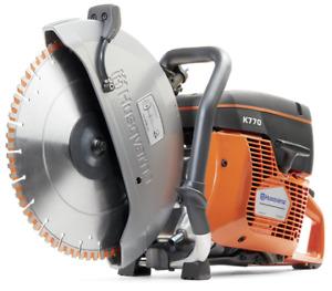 Husqvarna K770 power cutter saw for sale.