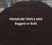 Premium Triple Mix, Top Soil, Mulch, Limestone Screening, Gravel