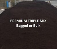 Premium Triple Mix, Top Soil, Limestone Screening, Gravel, Mulch