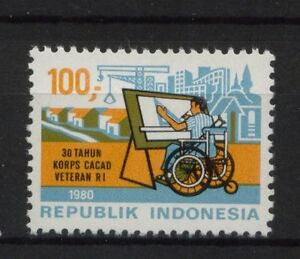 Indonesia-1980-SG-1581-Disabled-Veterans-Corps-MNH