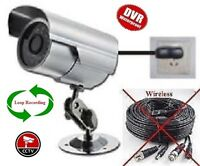 Simple CCTV Security Wire-less DVR Digital Video Recorder Camera