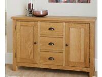 Wiltshire Solid Oak Sideboard
