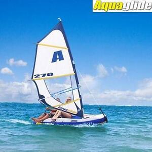 NEW AQUAGLIDE SAILBOAT WINDSURFER - 127976293 - TOWABLE MULTISPORT 270