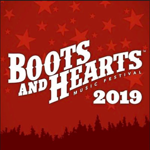 Boots and Hearts 2019 weekend GA tickets x2