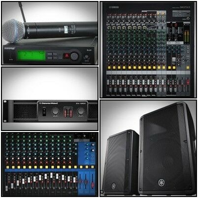 PA System / Sound System For Rent / Rental