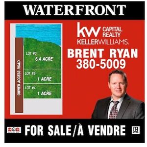 4 PID PACKAGE OF WATERFRONT LAND IN GRANDE-DIGUE!
