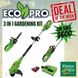 Eco Pro 3in1 Chain Saw, Hedge & String Trimmer Kit Stanthorpe Southern Downs Preview