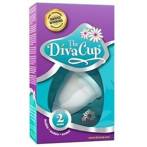 NEW DIVA CUP MENSTRUAL CUP MODEL 2 - 89103116 - MODEL 2 POST CHILDBIRTH