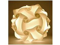 White Lamp Shade Puzzle- New, in original packaging