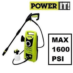 NEW*  POWER IT! PRESSURE WASHER ELECTRIC - 1600 Max. PSI 107545511