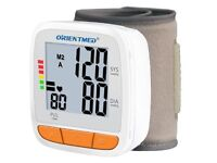 Brand New ORIENTMED (ORT752) Wrist Type Automatic Digital Blood Pressure Monitor