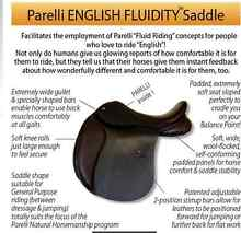 Parelli SUPERWIDE brown FLUIDITY GP saddle for SWAP Colac-Otway Area Preview